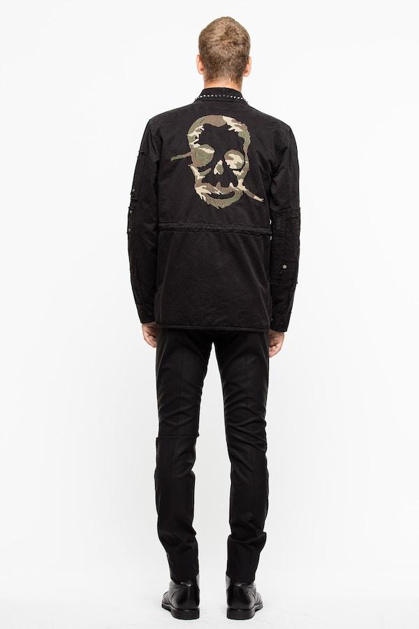 Bart Black Grun Coat