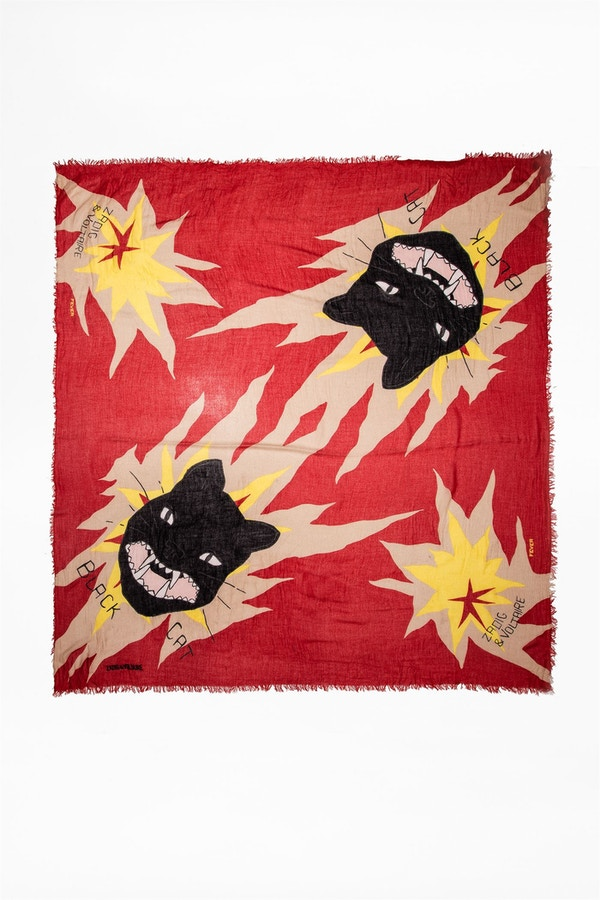 Delta Twin Cats Scarf