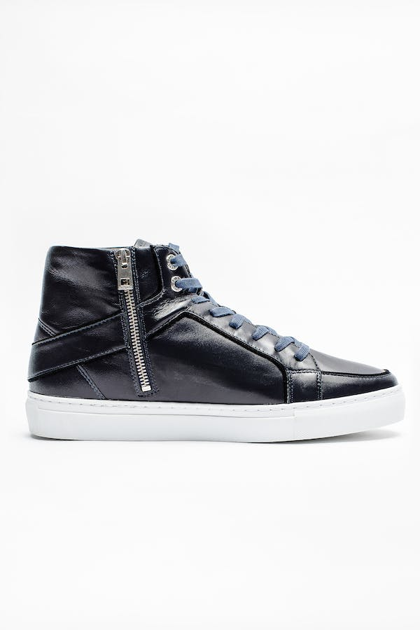 Zv1747 High Flash Skull Sneakers