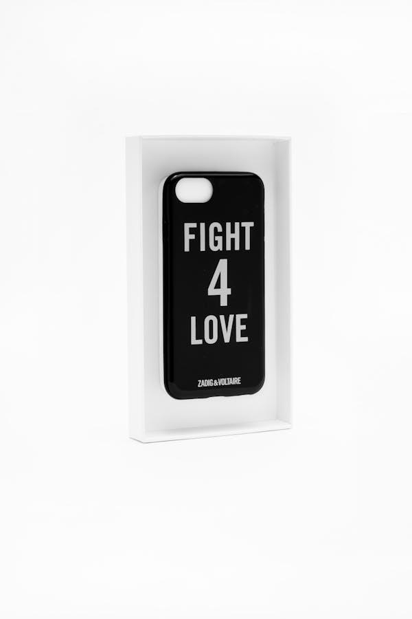 Fight Love Iphone Case