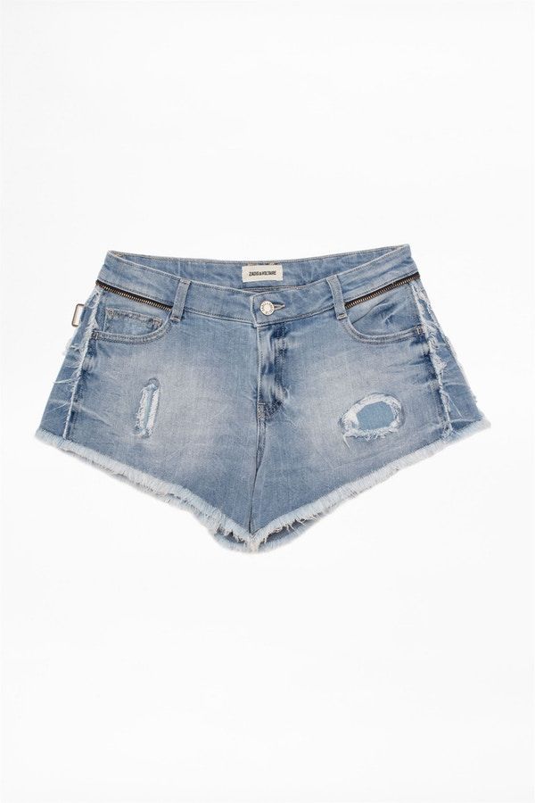 Paly Denim Destroy Shorts