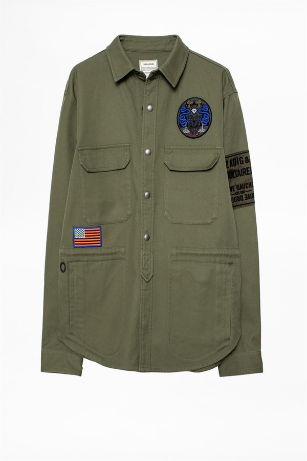 Tacklo Patch Parka