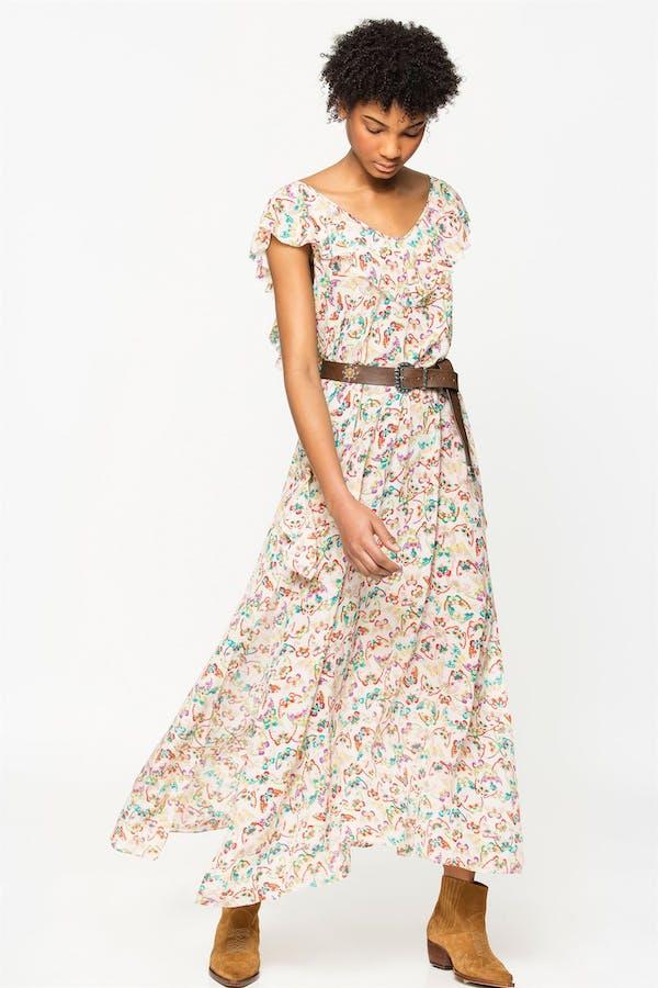 Reen Butterfly Dress