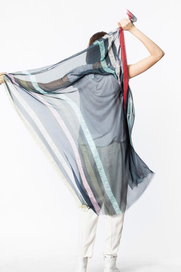 Kim Stripes scarf