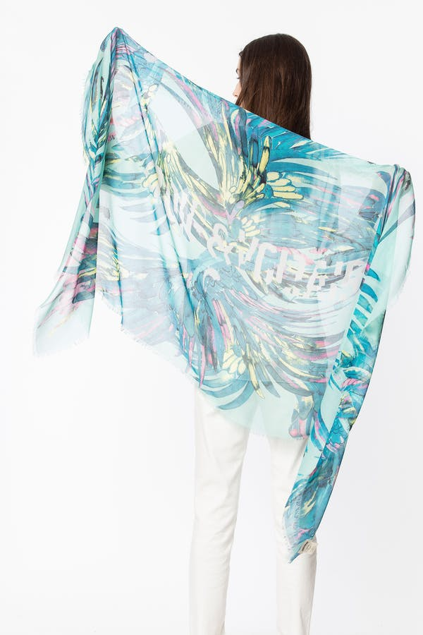 Merry Wings scarf