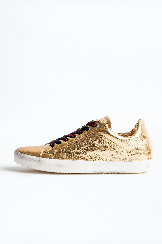 Zadig Gold sneakers - sneakers women's
