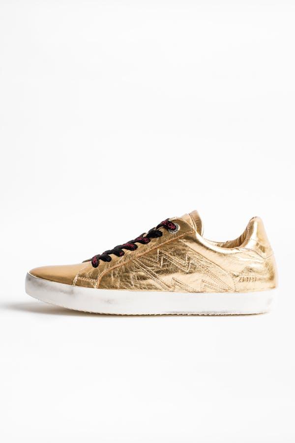 Zadig Gold sneakers