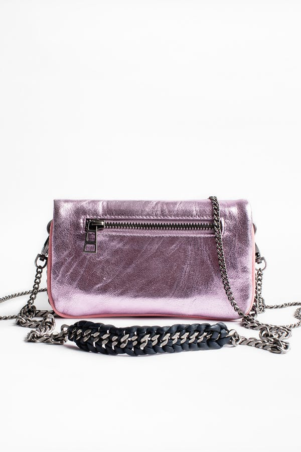 Rock Nano Metal clutch bag