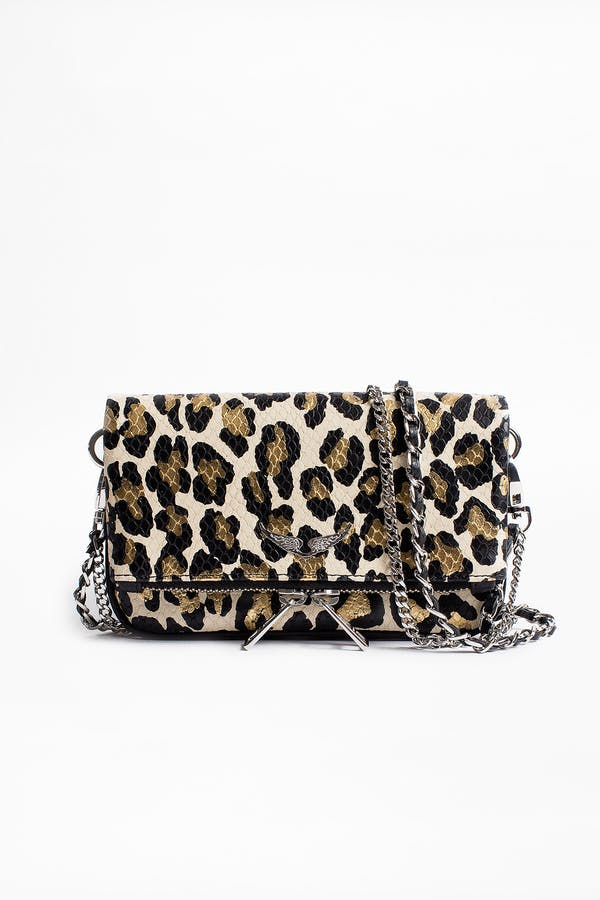 Rock Nano Leo clutch bag