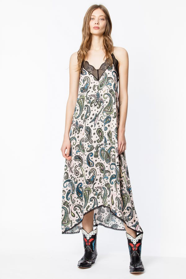 Risty Paisley Dress
