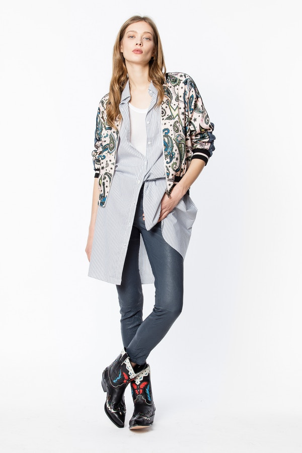 Billie Print Paisley Jacket