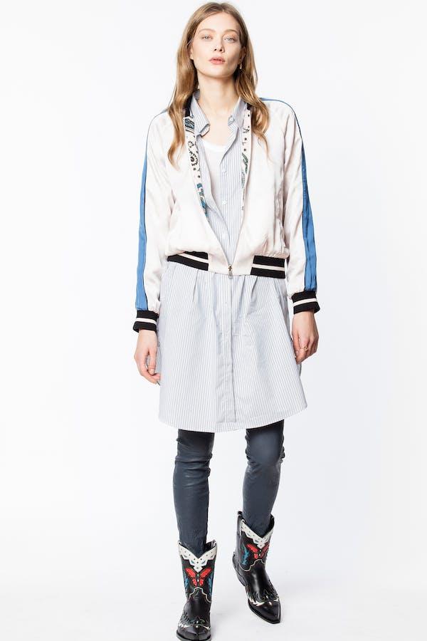 Billie Print Paisley Jacket