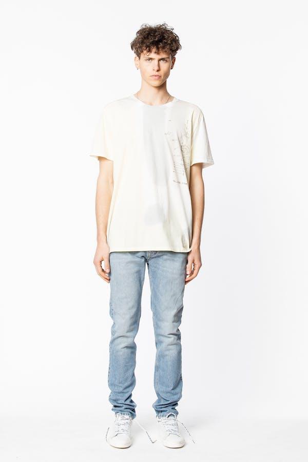 Ted Vinyl Arm T-Shirt