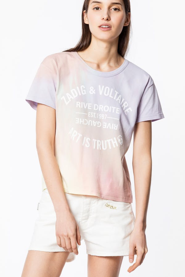 Marta Blason Tie&Dye T-shirt