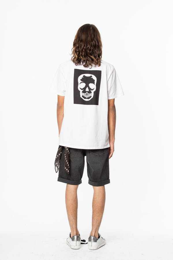 Ted Skull Block T-Shirt