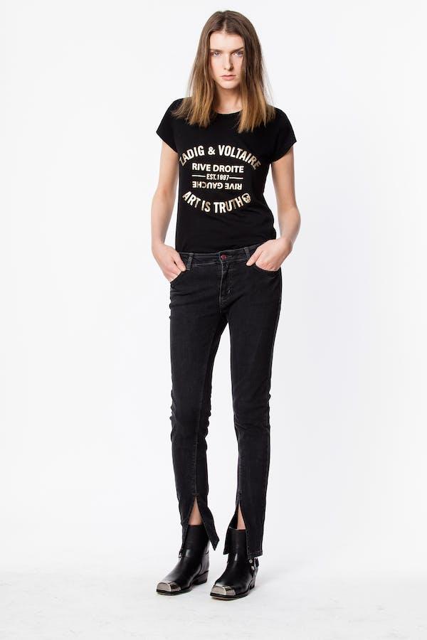 Skinny Foil Blason T-shirt