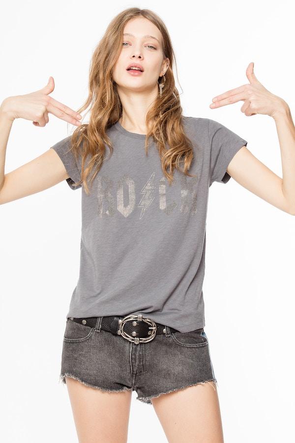 Skinny Strass T-shirt