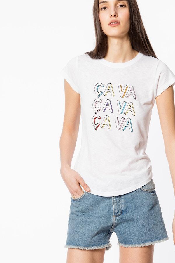 Skinny Ça Va T-shirt