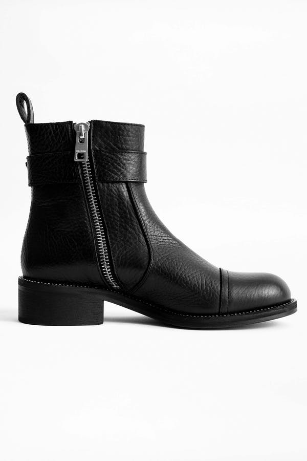 Empress Buckle Boots