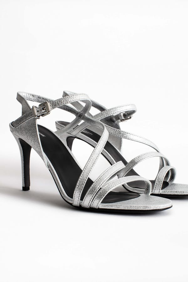 Marilyn Metallic Sandals