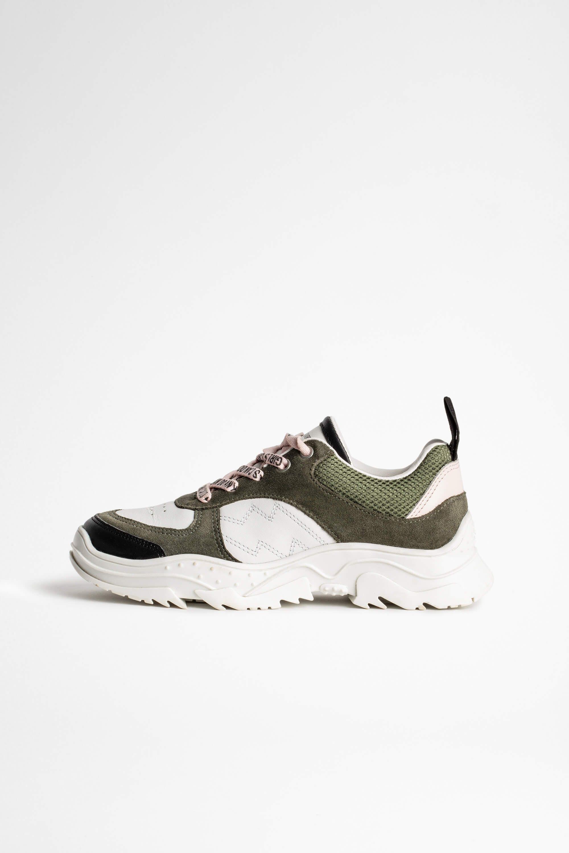 쟈딕 앤 볼테르 키즈 Zadig & Voltaire Childs Blaze Sneakers,GREEN