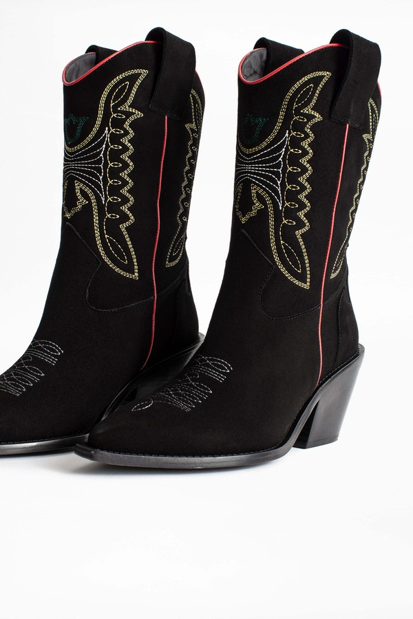 Rockland Goat Suede Boots