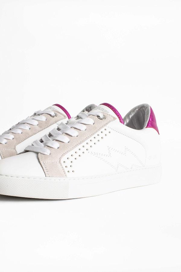 ZV1747 Metallic Sneakers