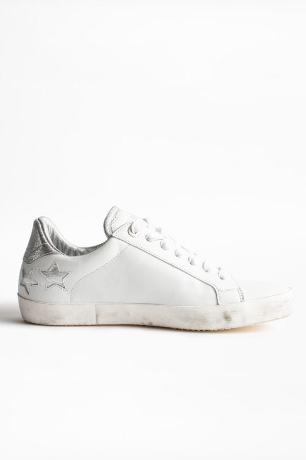 ZV1747 Stars Metallic Sneakers