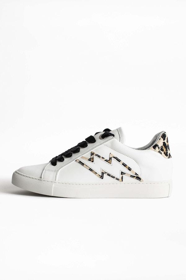 ZV1747 Wild Leo Neon Sneakers