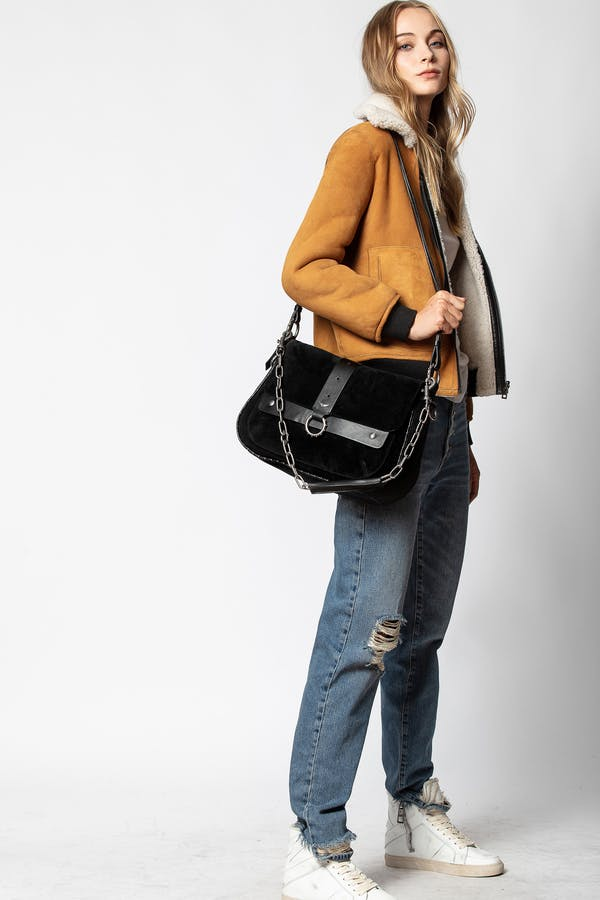 Kate XL Suede Bag