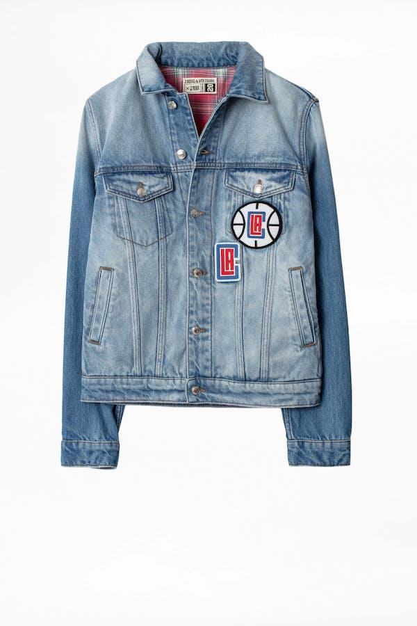 Base LA Clippers Jacket