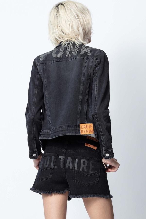 Kioky Punk Strass Jacket