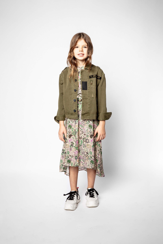 쟈딕 앤 볼테르 키즈 Zadig & Voltaire Child's Jess Jacket,GREEN
