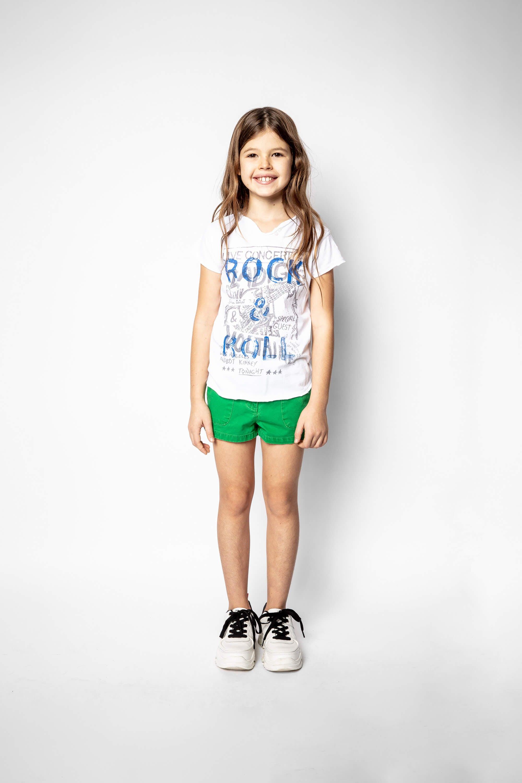 쟈딕 앤 볼테르 키즈 Zadig & Voltaire Child's Sienna Shorts,GREEN
