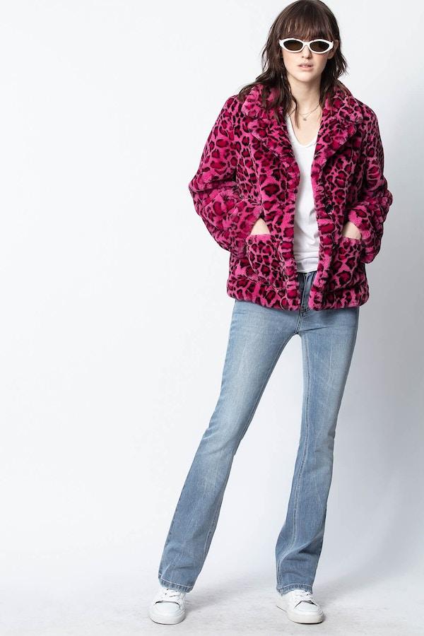 Lila Leopard Jacket