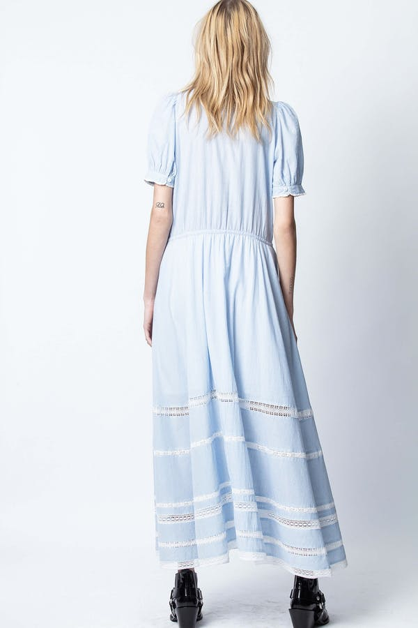 Regard Cotton Rayé Dress