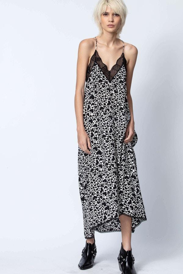 Risty Print Coeur Dress