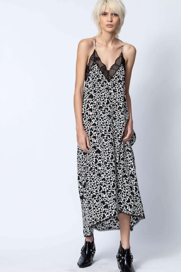 Risty Print Coeur Dress