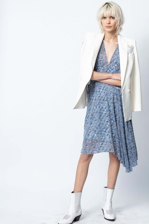 Rozane Velours Dress