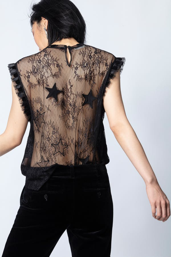 Tetro Lace Top