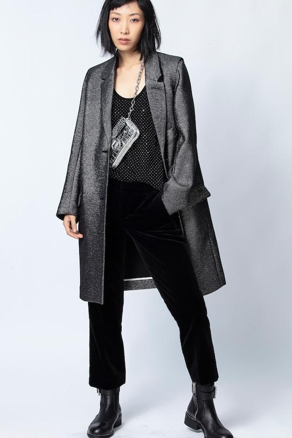 Marla Lurex Coat