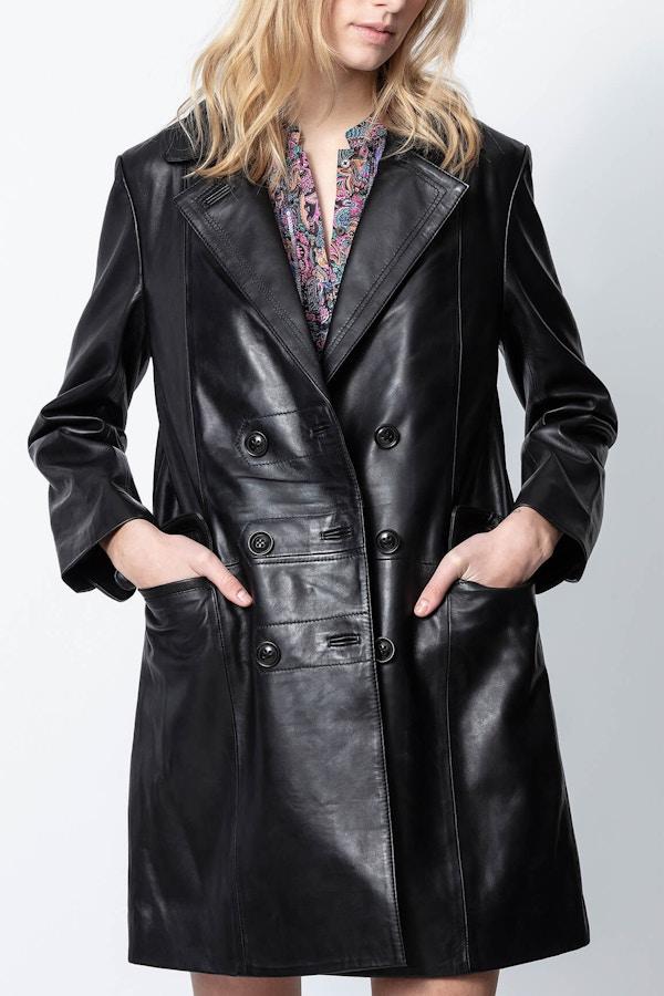 Magic Leather Coat