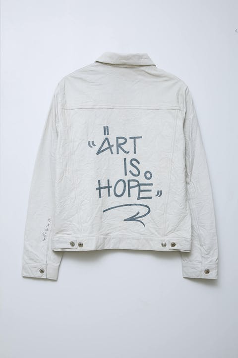 Jormi x Art Is Hope Base Crinkle Jacket