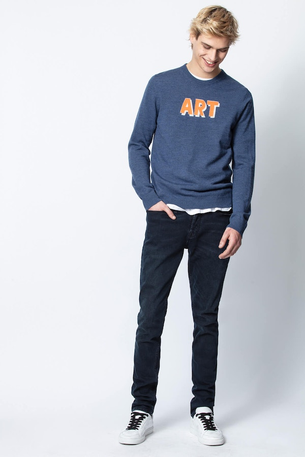 Kennedy Art Sweater