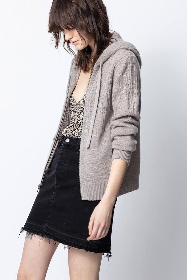Cassy Cashmere Destroy Sweater