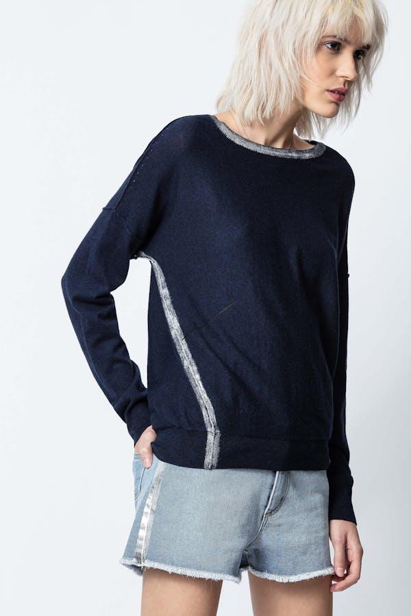 Anouk Foil Sweater