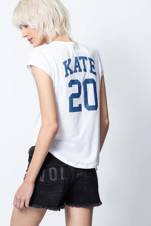 Karta Kate Tunisian-Collar T-Shirt