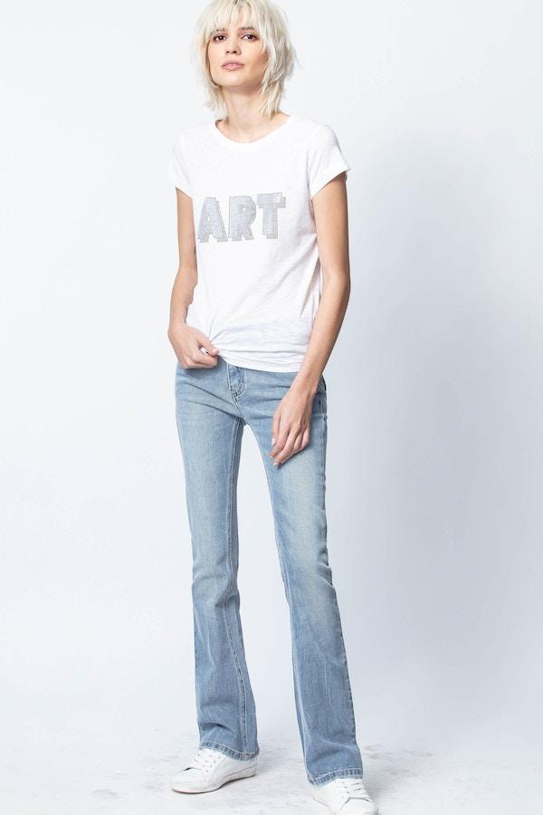 Skinny 3D Art T-Shirt