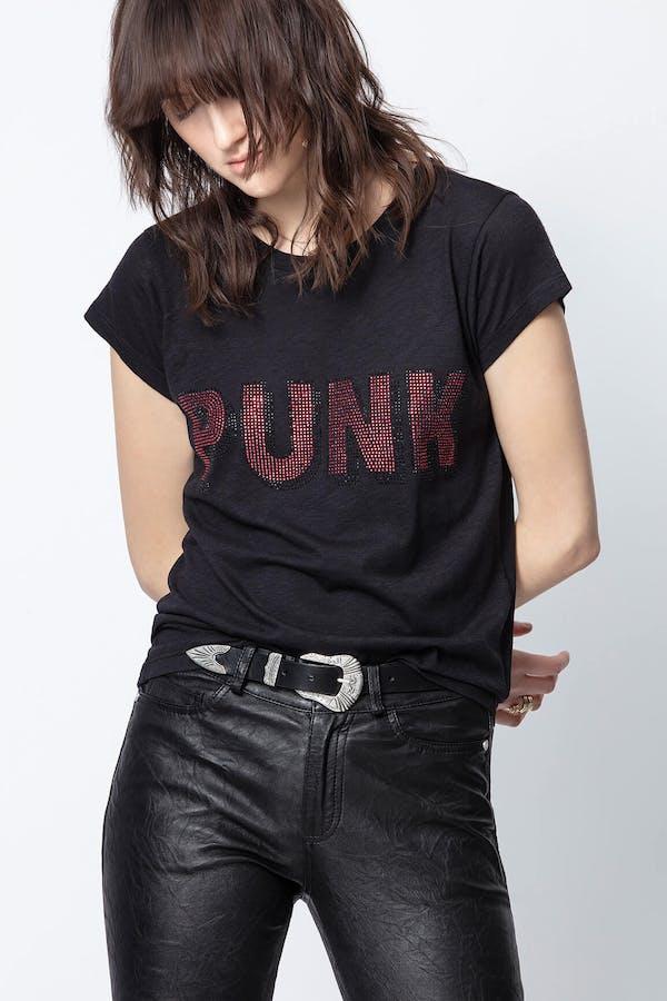 Skinny 3D Punk T-Shirt