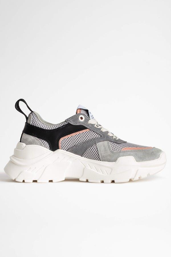 Future Mesh Suede Sneaker
